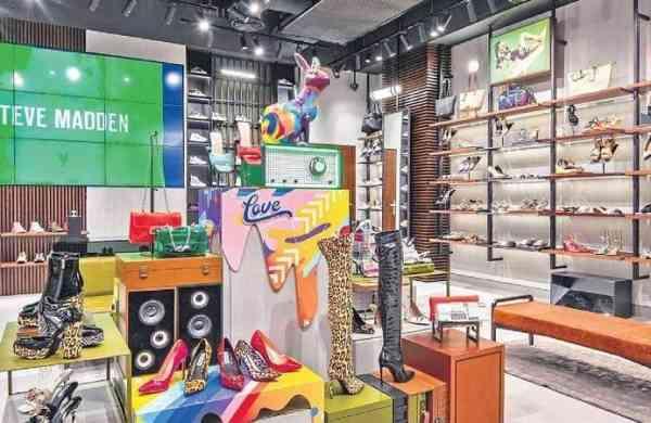 Steve Madden concept store in Delhi