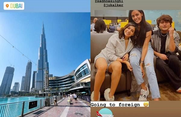 Samantha goes on a trip to Dubai with her friends