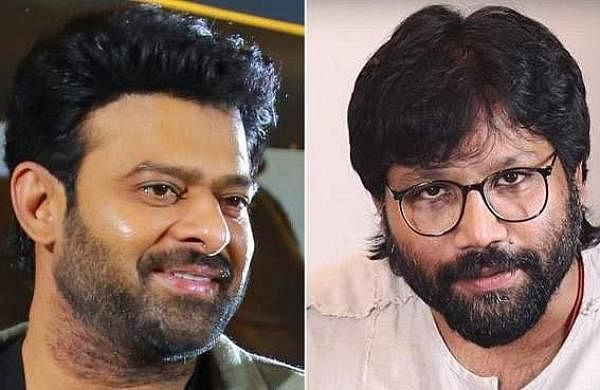 Prabhas (left) and director Sandeep Reddy (right)