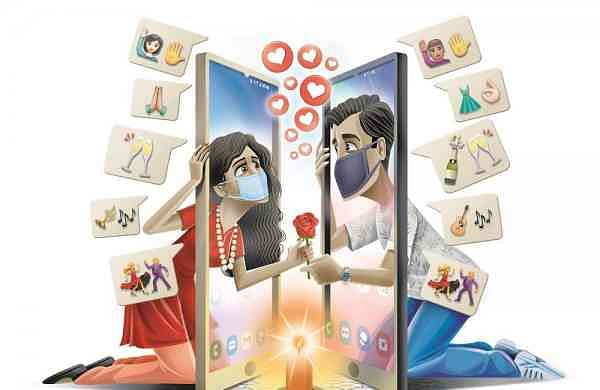Indians are finding love online during the pandemic, courtesy dating apps