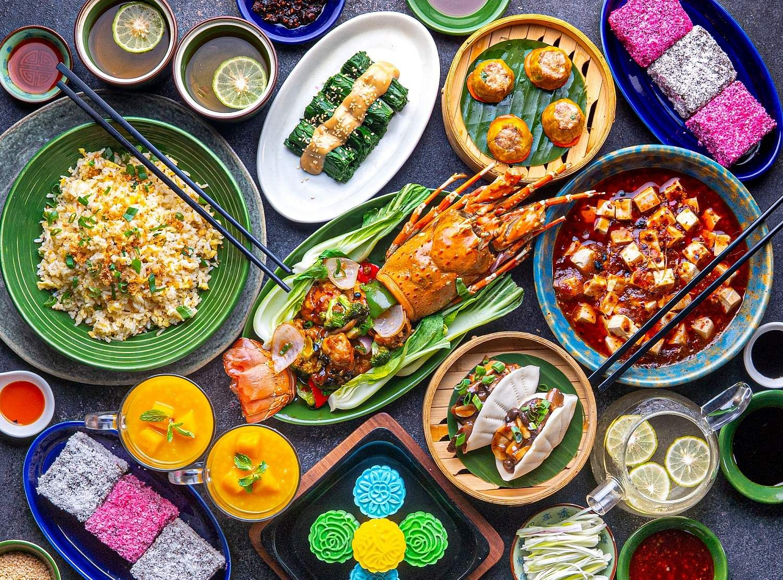 Five course meal including Lobster Tortellini at Hyatt Regency Chennai