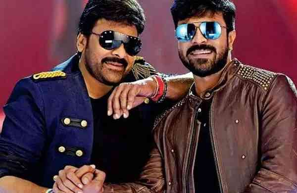 Chiranjeevi And Ram Charan Still