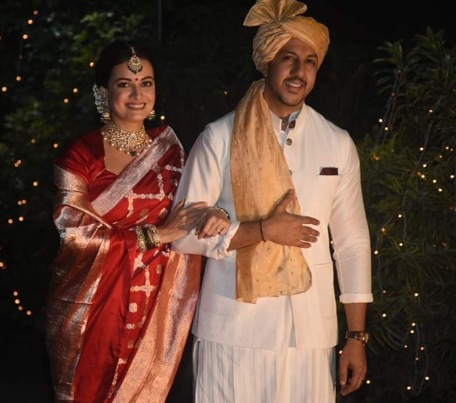 Dia Mirza And Rekhi Wedding