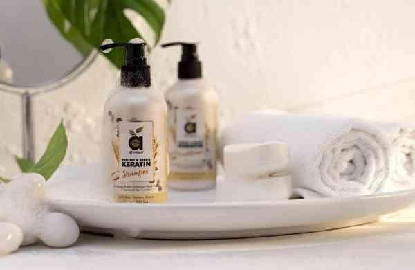 Keratin Shampoo, Conditioner