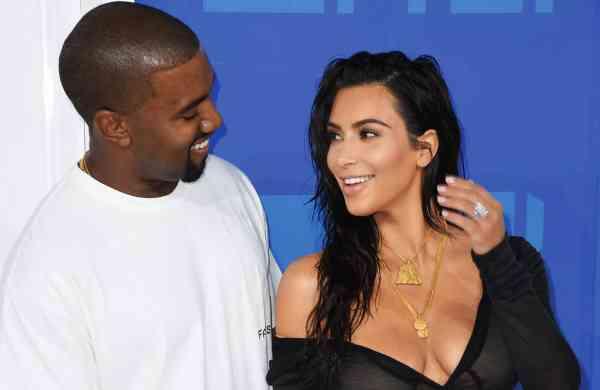 Kardashian And West Image