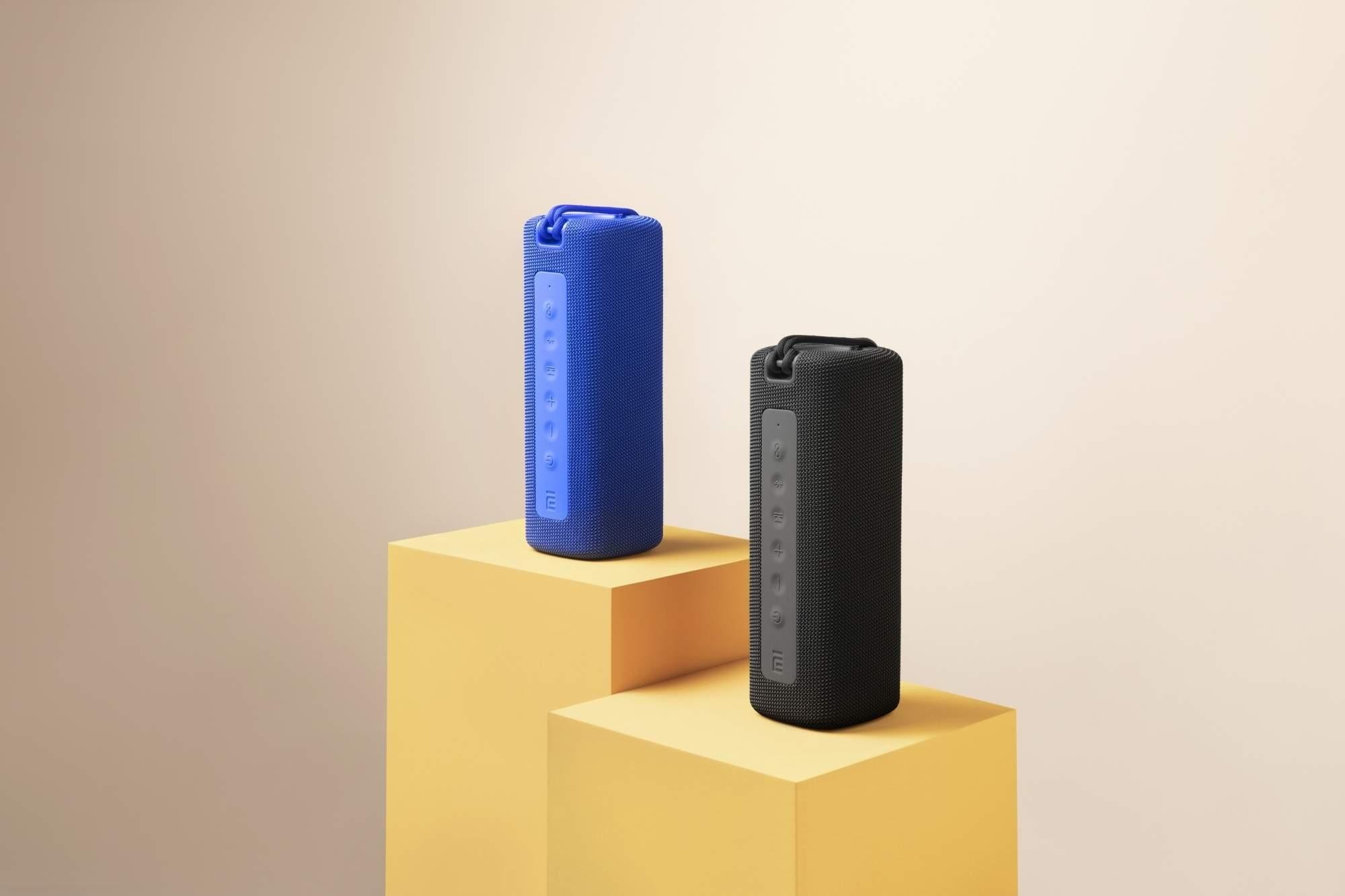 Bluetooth Earphones And Speaker Image