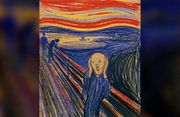 The Scream, a painting by artist Edvard Munch