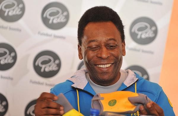 Pele Brazilian Football Player