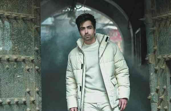 Harrdy Sandhu strikes a pose. Credits: Harrdy's Instagram