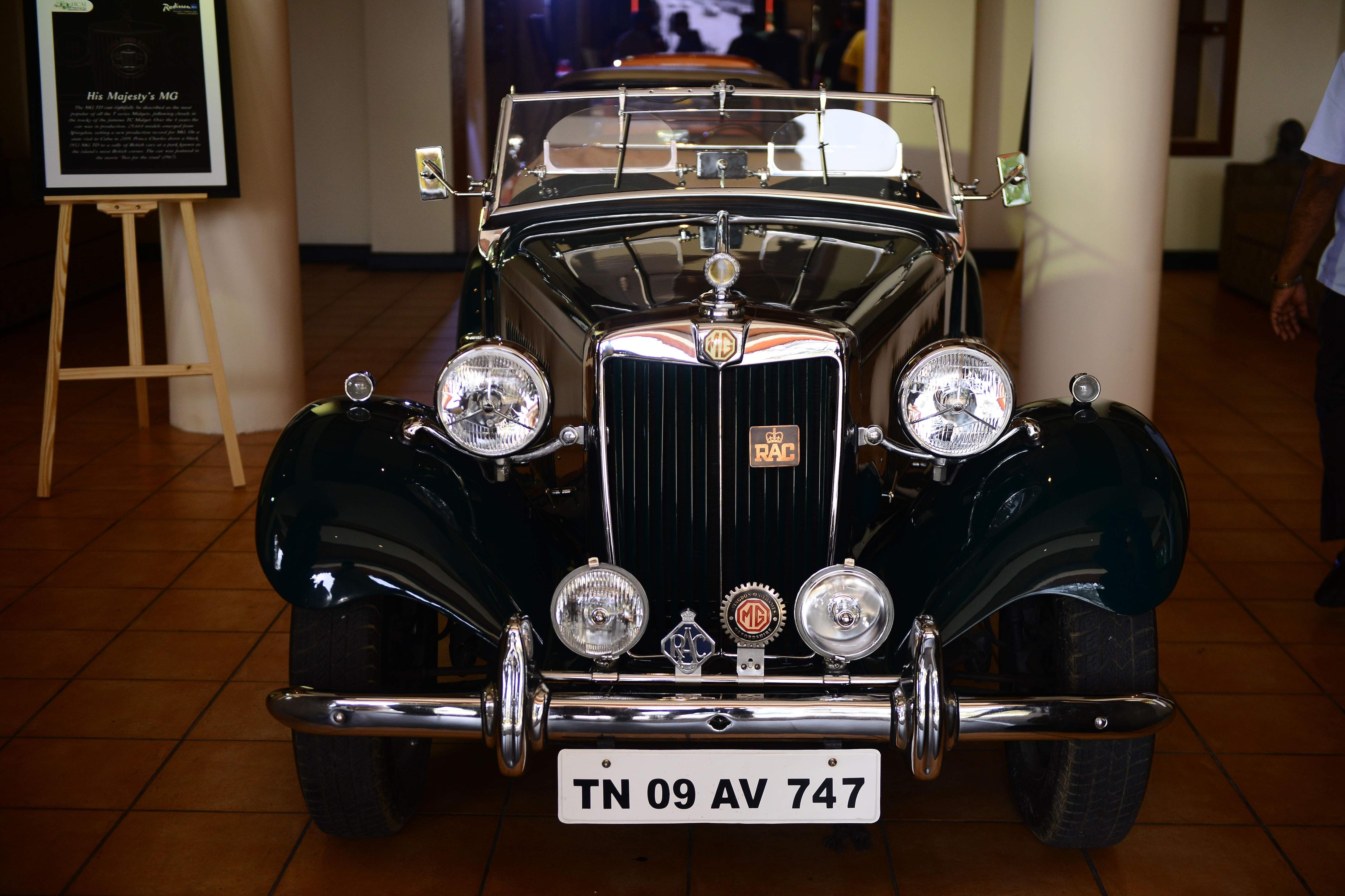 1953 MG-TD