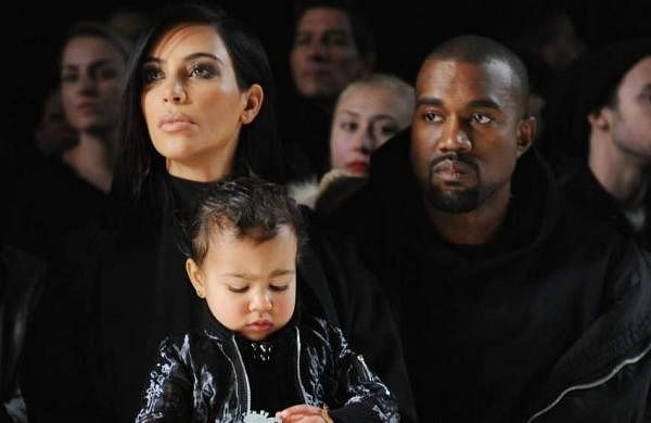 Kim and Kanye during happier times