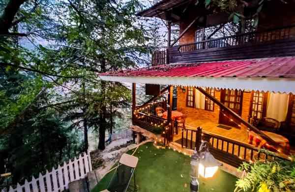 Royal Swiss Cottagein Himachal Pradesh