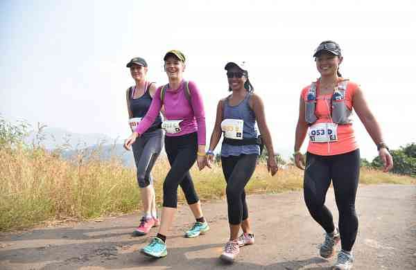 A picture from a previous edition of Oxfam Trailwalker