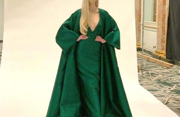 The Queen's Gambit star Anya Taylor-Joy in custom Dior