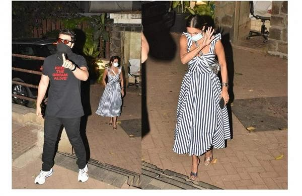Arjun and Malaika spotted together. Source: Internet