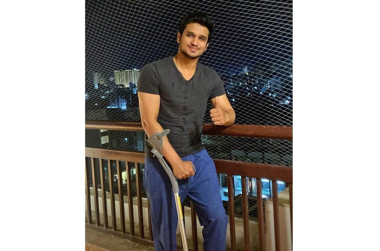 Nikhil Sidharth injured on the sets of Karthikeya 2