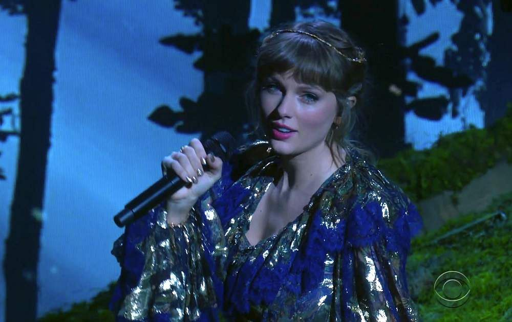 Taylor Swift. Picture courtesy: AP/CBS