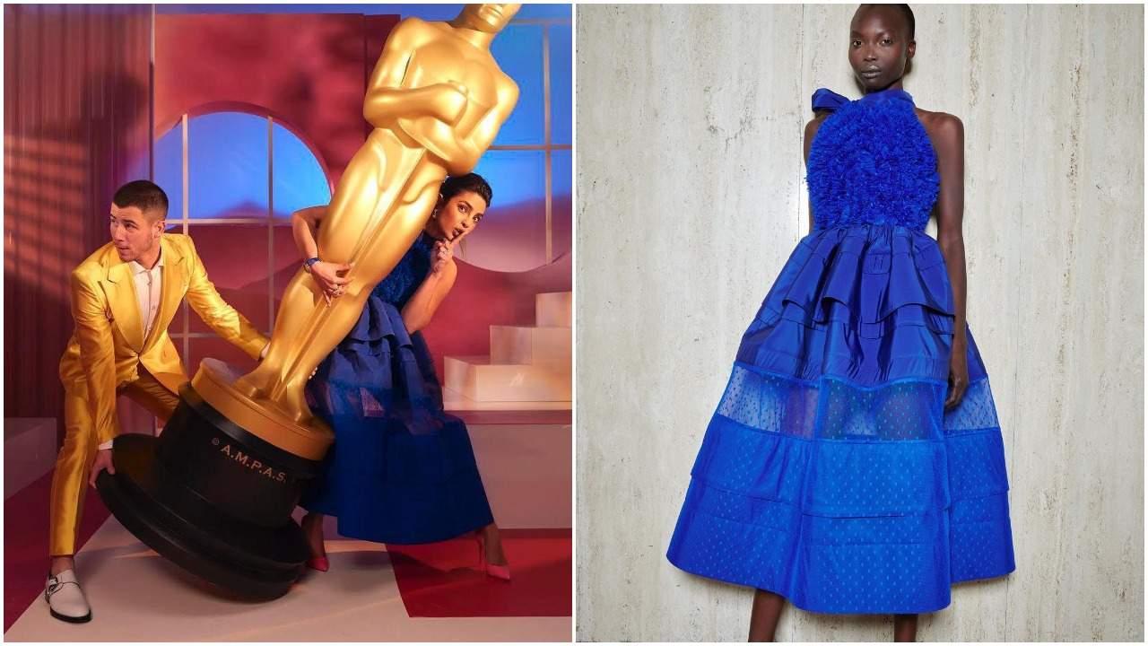 Canadian RTW label Priyanka Chopra wore for the Oscar nomination ceremony