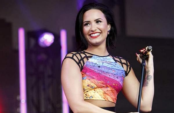 Demi Lovato Singer Songwriter Raped