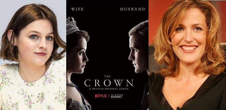 Emma Corrin Poster Of The Crown