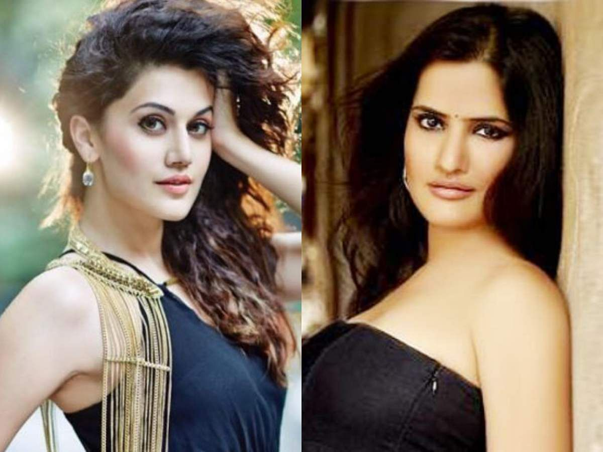Taapsee Pannu and Sona Mohapatra