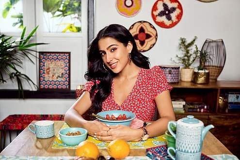 Sara Ali Khan collaborates with Chumbak