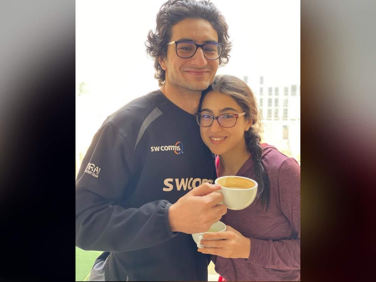Sara Ali Khan with Ibrahim Ali Khan