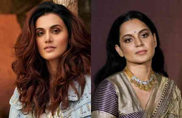 Kangana and Taapsee in a war of words on Twitter