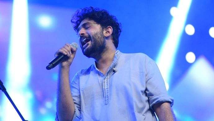 Sid Sriram performing at an event. Source: Internet