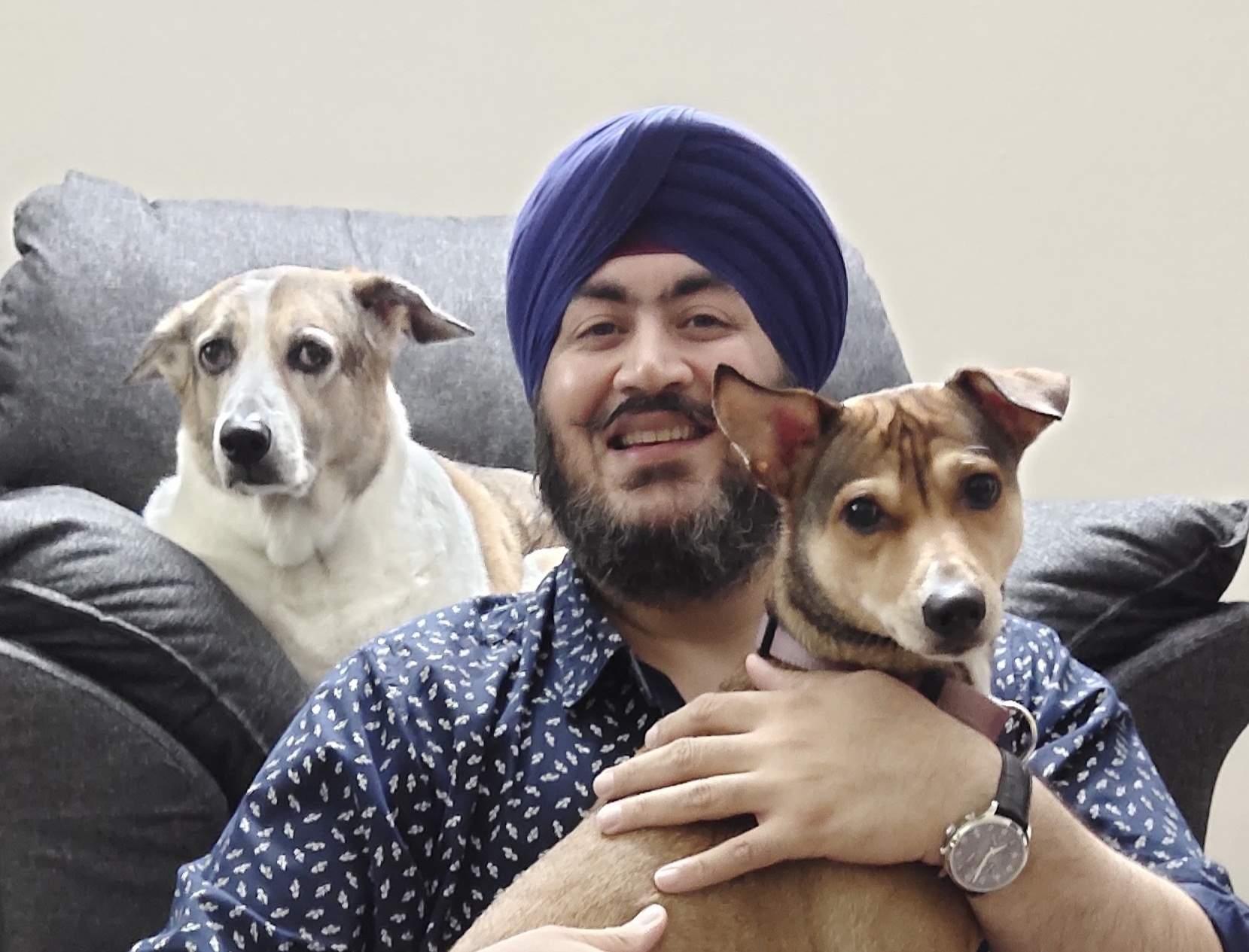 Dog Chef Ishmeet Signh Chandiok