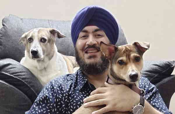 Dog Chef Ishmeet Signh Chandiok