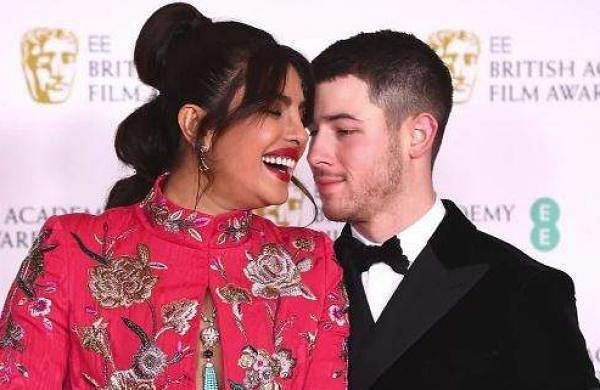 Bafta 2021 Priyanka Chopra And Nick Jonas