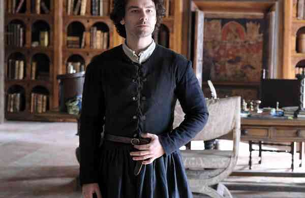 Aidan Turner plays the title role of Leonardo