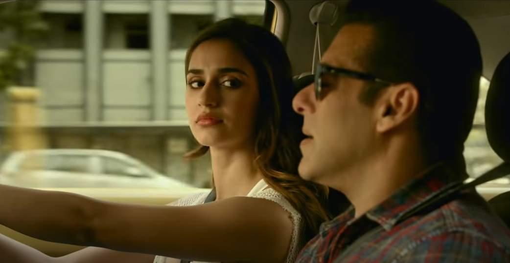 A still from Radhe starring Disha Patani and Salman Khan