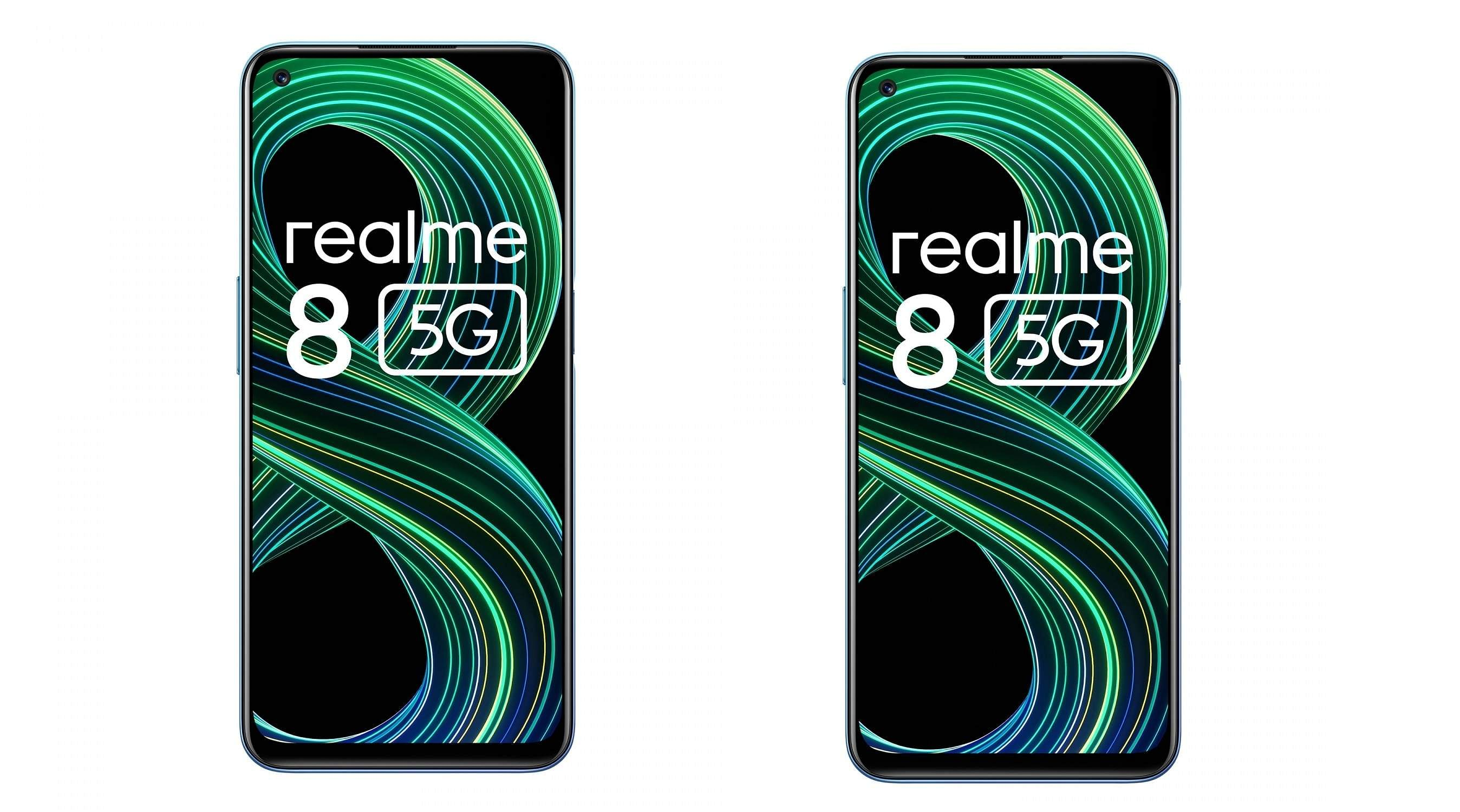 New release: Realme 8 5G launched in India
