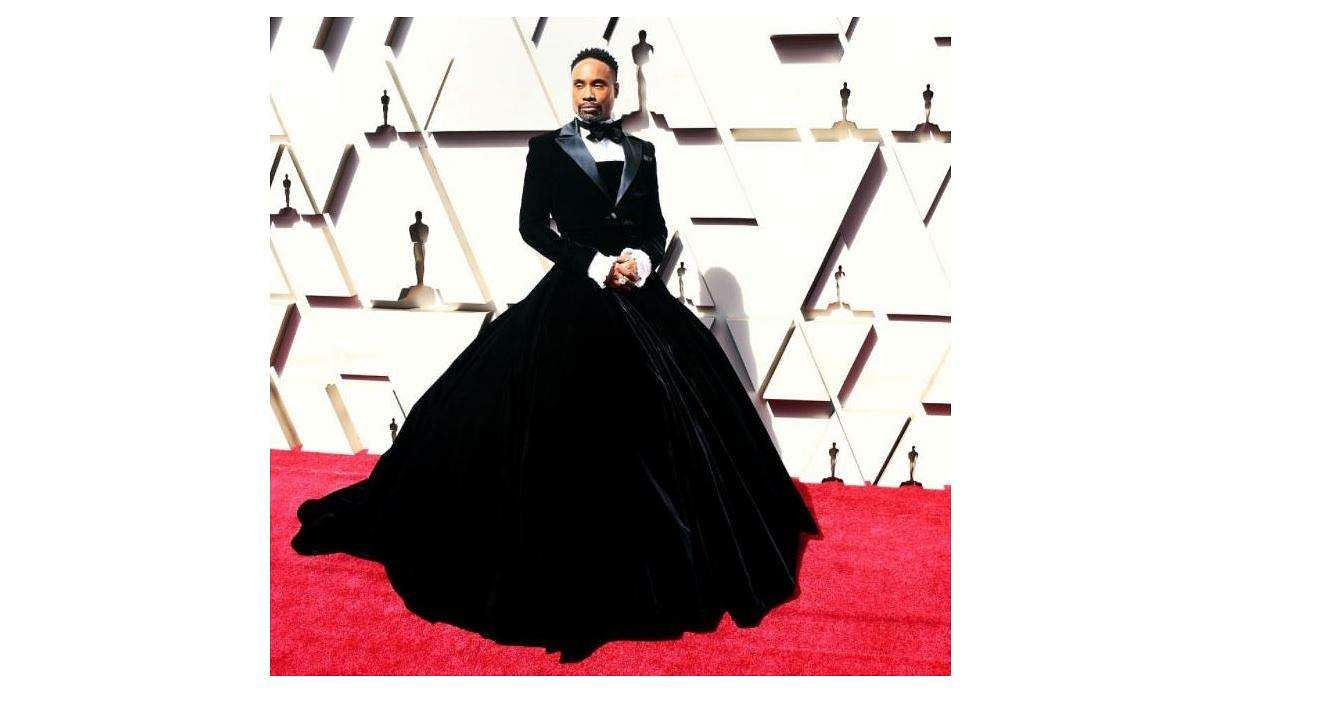 Billy Porter, Academy Award. Image: His Instagram
