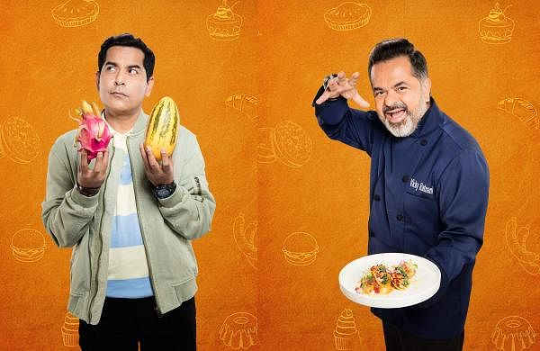 Gaurav Gera and chef Vicky Ratnani