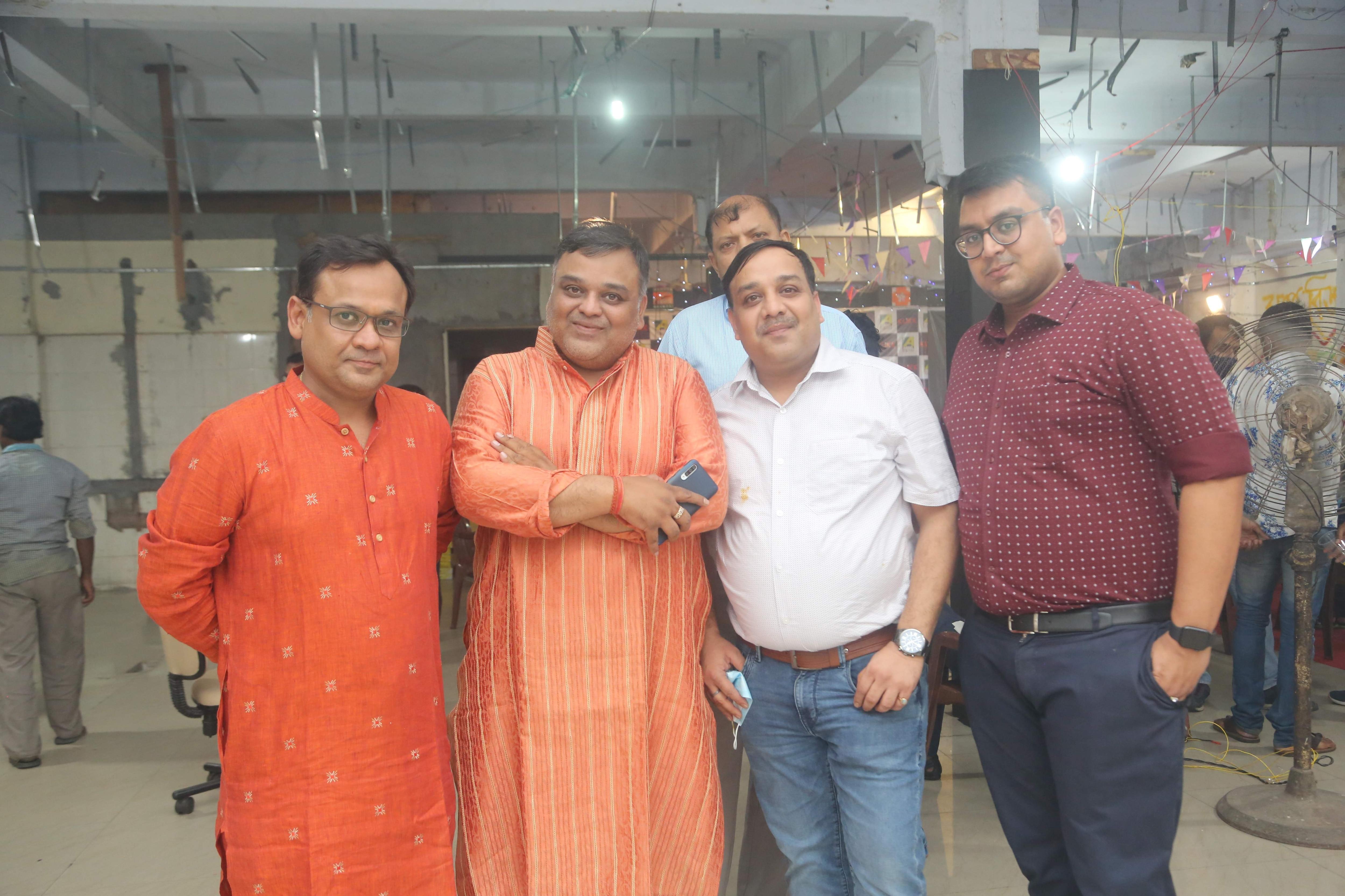 Niraj,_Akash,_Vikash_and_Siddhart_Tantiya_ROOPKATHAR