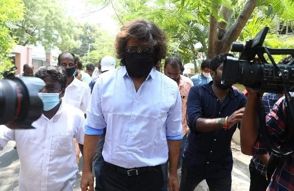 Tamil Nadu Elections: Actor Chiyaan Vikram casts his vote