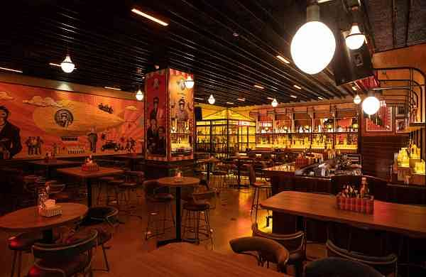 Interiors of Monkey Bar, Chennai