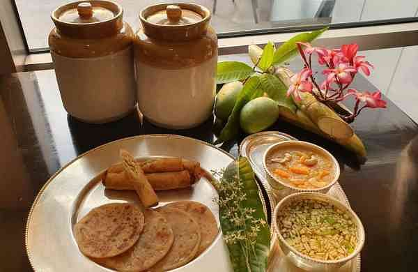Ugadi Pachhadi with a twist