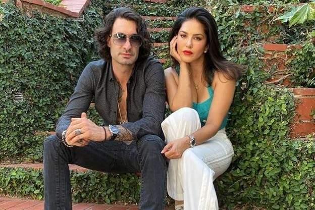 Daniel Weber and his wife Sunny Leone