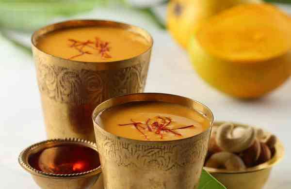 Recipe: Mango Thandai