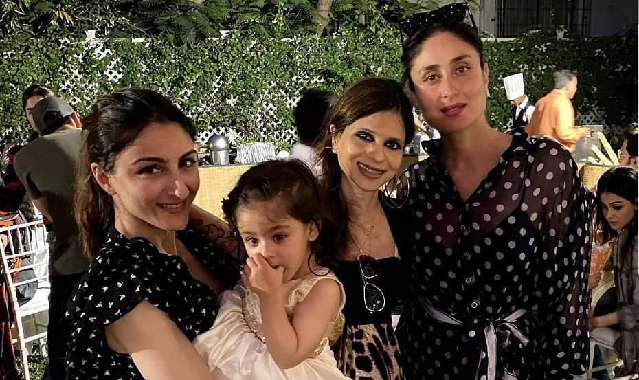 Saba Safi Soha And Kareena Kapoor Khan