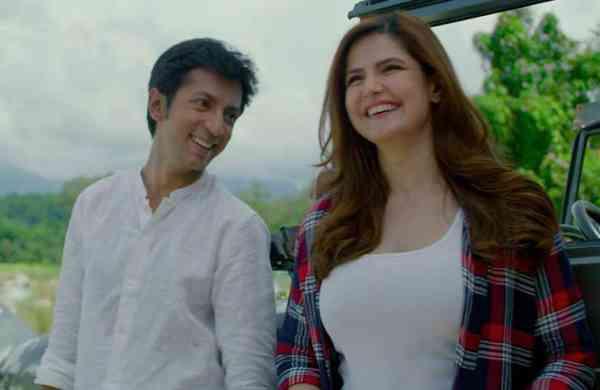 Anshuman Jha and Zareen Khan in Hum Bhi Akele Tum Bhi Akele