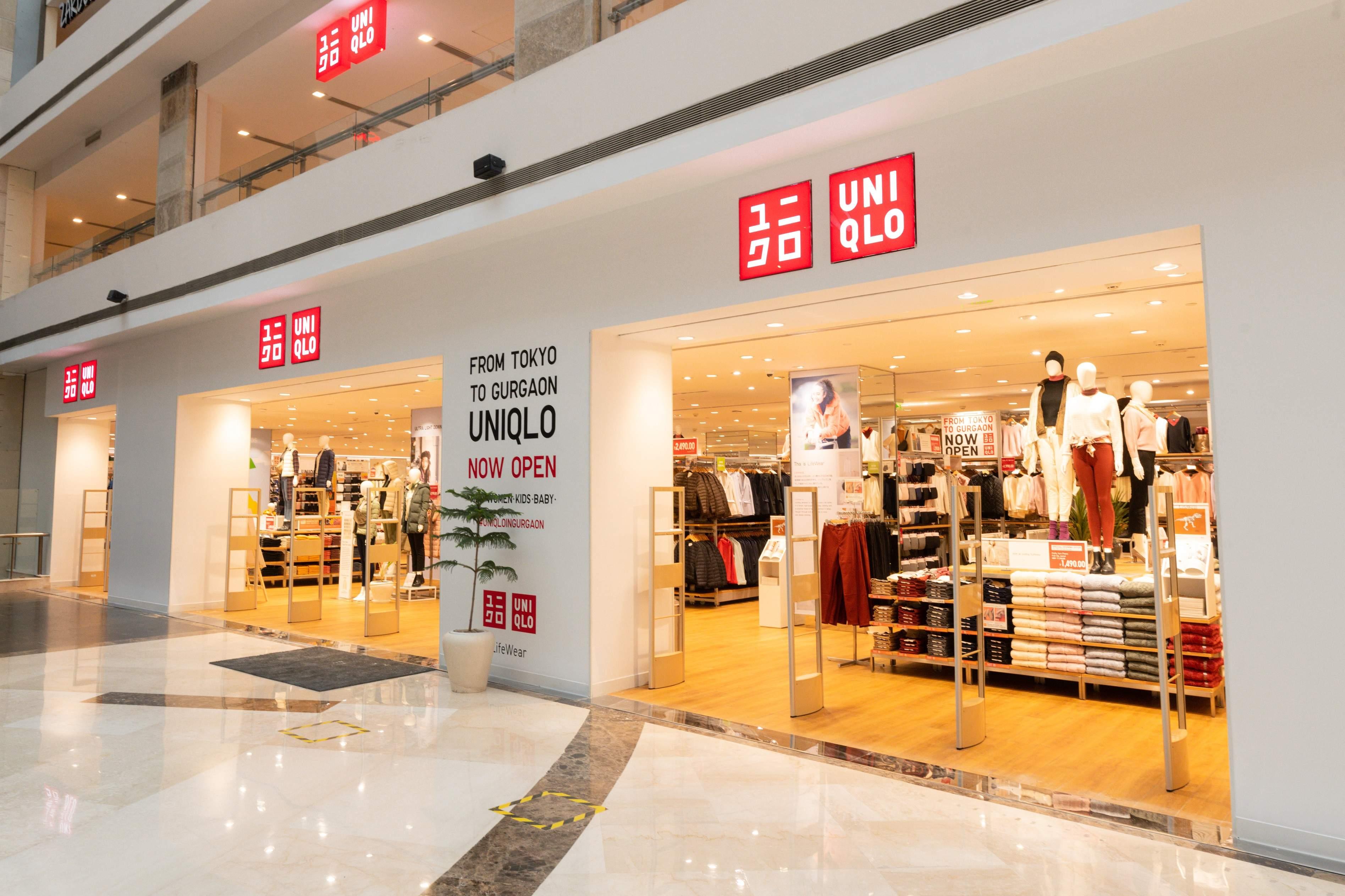 A representative image of UNIQLO's Gurgaon store