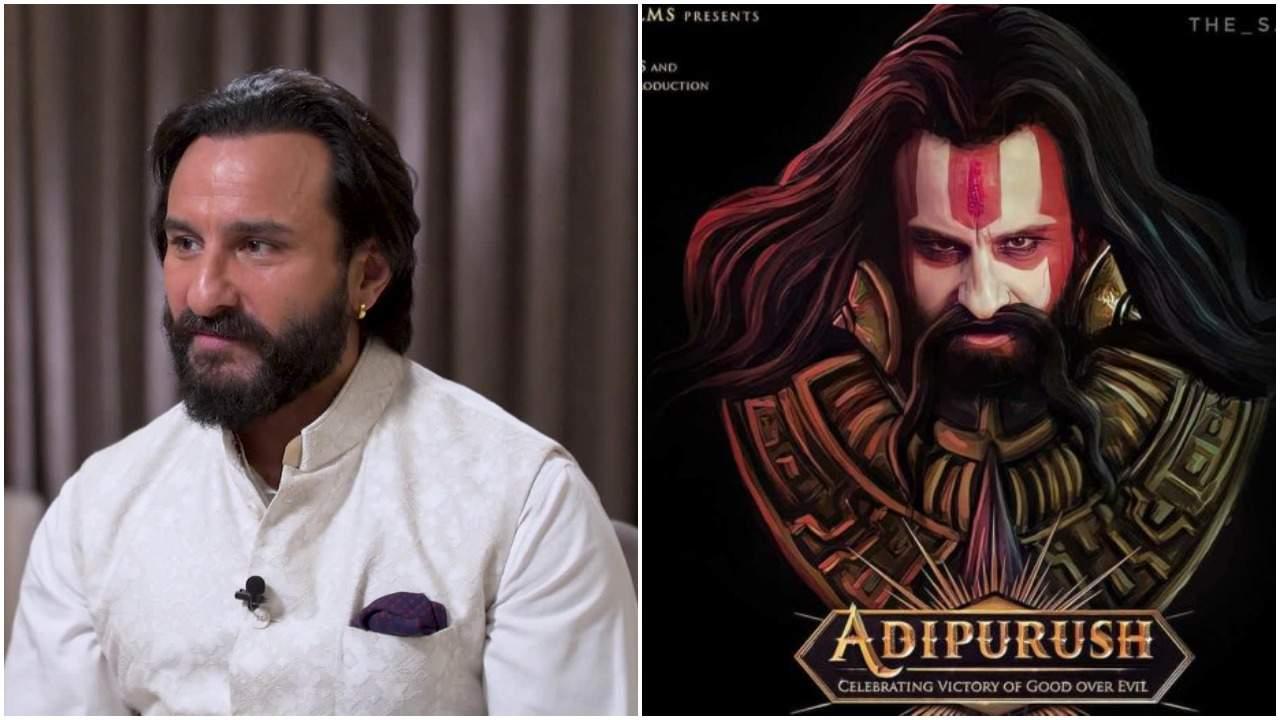 Saif Ali Khan on whether his Ravan would have ten heads in Adipurush
