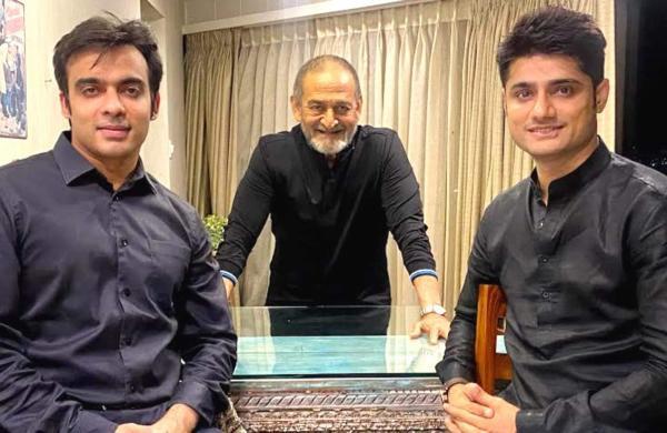Mahesh Manjrekar With Sandeep Singh'S