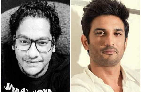 Siddharth Pithani (left) and late actor Sushant Singh Rajput (right)