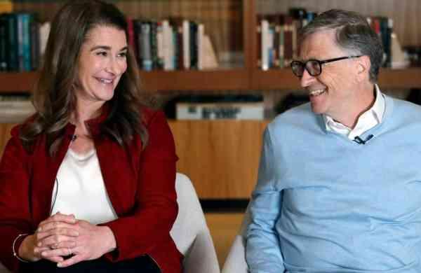Melinda and Bill Gates (Image source: Internet)